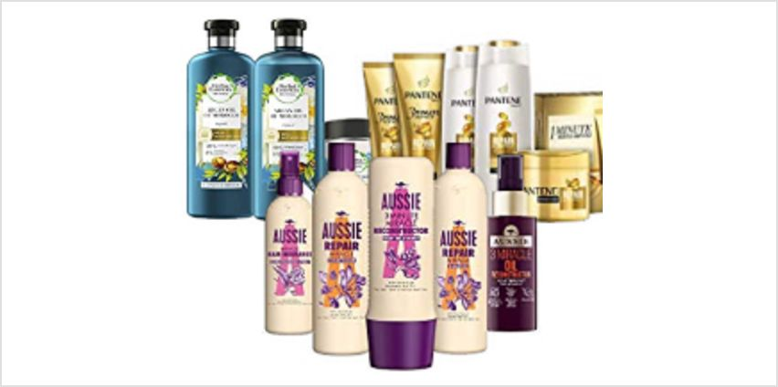 15% off on Pantene, Aussie, and other brands from Amazon