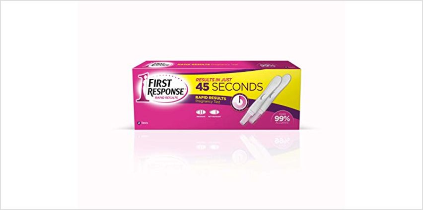 Save on First Response Rapid Results Pregnancy Test, Pack of 2 and more from Amazon