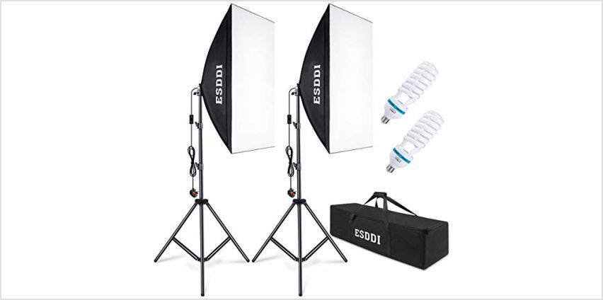 ESDDI Softbox Photography Lighting Kit from Amazon