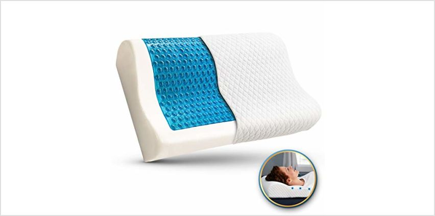 Bamibi Memory Foam Pillow with Comfort Contours from Amazon