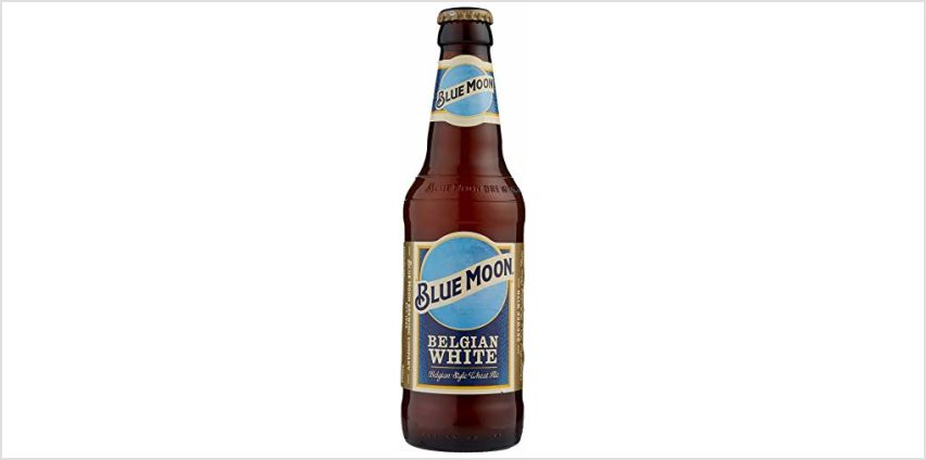 Blue Moon American Craft Wheat Beer 12 x 330 ml Bottles from Amazon