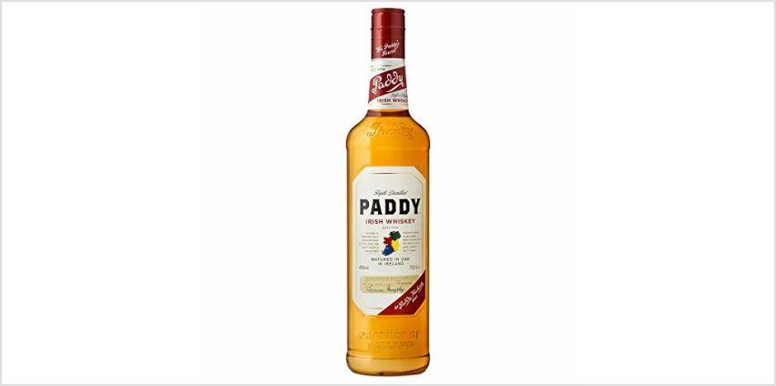 Paddy Irish Whisky, 70cl from Amazon