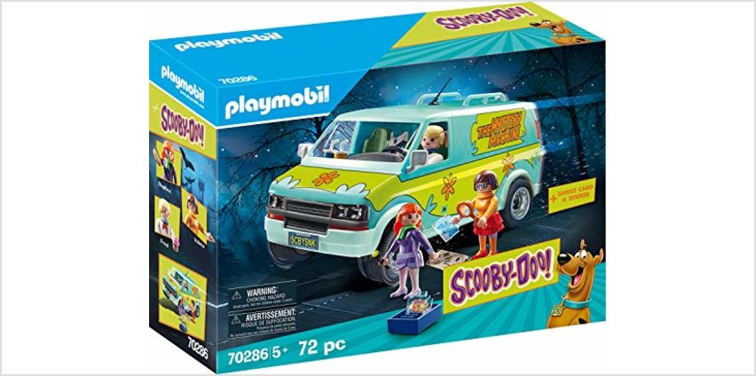 20% off Playmobil SCOOBY-DOO! Toy & EverDreamerz Surprise Box from Amazon