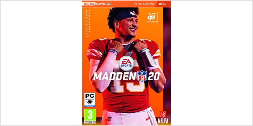 Madden NFL 20 - Standard  | PC Download - Origin Code from Amazon