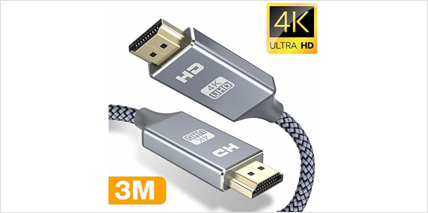 20% off HDMI Cable 5M HDMI Lead from Amazon