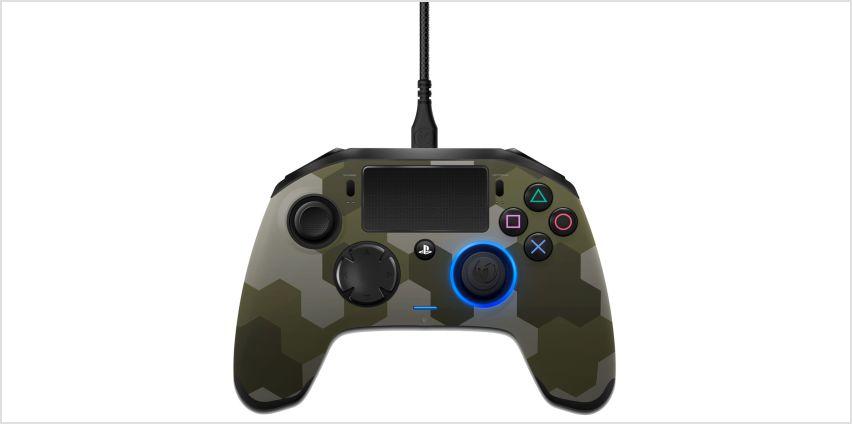 Nacon Revolution PS4 Controller - Green Camo from Argos