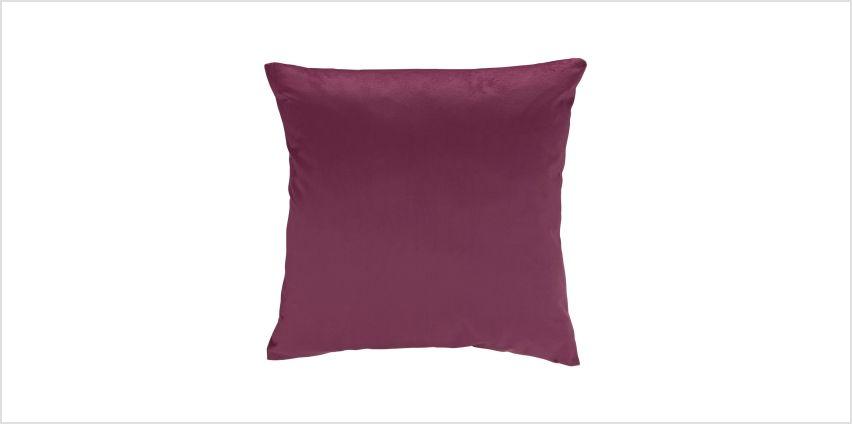 Argos Home Berry Christmas Velvet Cushion from Argos