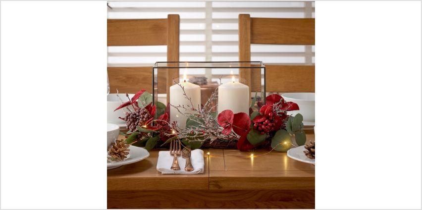 Argos Home Berry Christmas Centrepiece from Argos