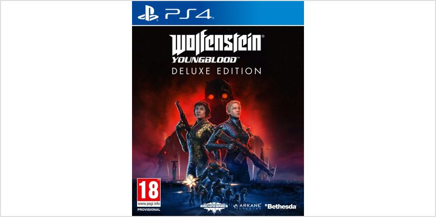 Wolfenstein Youngblood Deluxe Edition PS4 Game from Argos