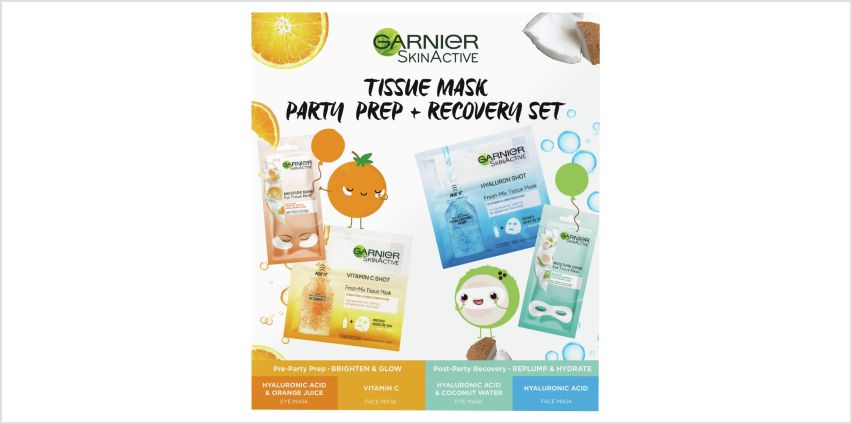 Garnier Mask Party Recover Kit from Argos