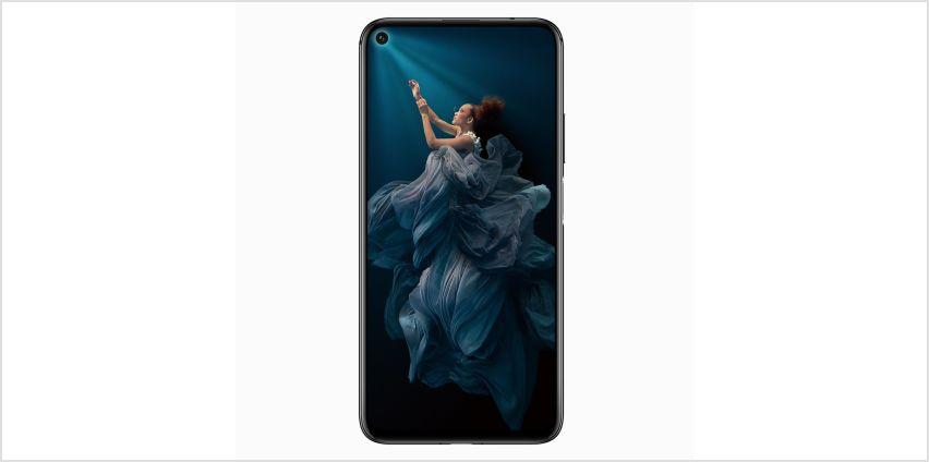 SIM Free HONOR 20 128GB Mobile Phone - Black from Argos
