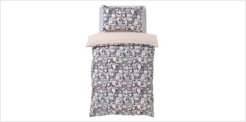 Argos Home Penguin Bedding Set from Argos