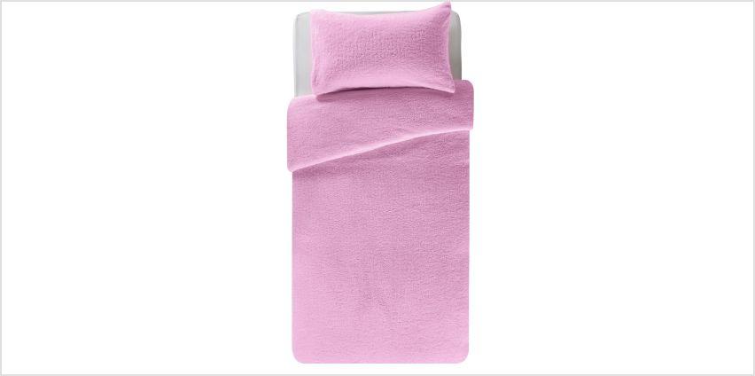 Argos Home Fleece Bedding Set from Argos
