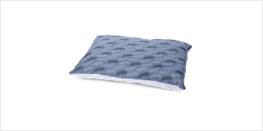 Petface Grey Feather Pillow Mattress - Medium from Argos