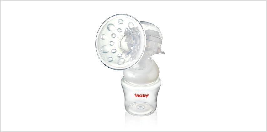 Nuby Manual Breast Pump from Argos