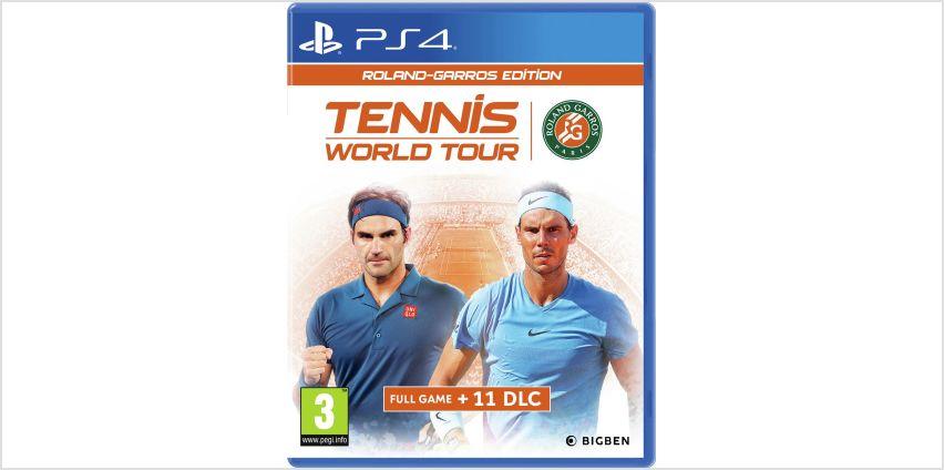 Tennis World Tour: Roland Garros Edition PS4 Game from Argos