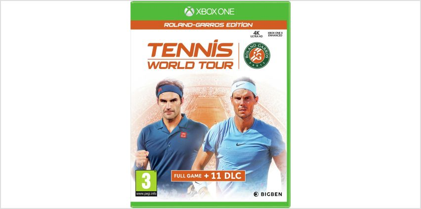 Tennis World Tour: Roland Garros Edition Xbox One Game from Argos