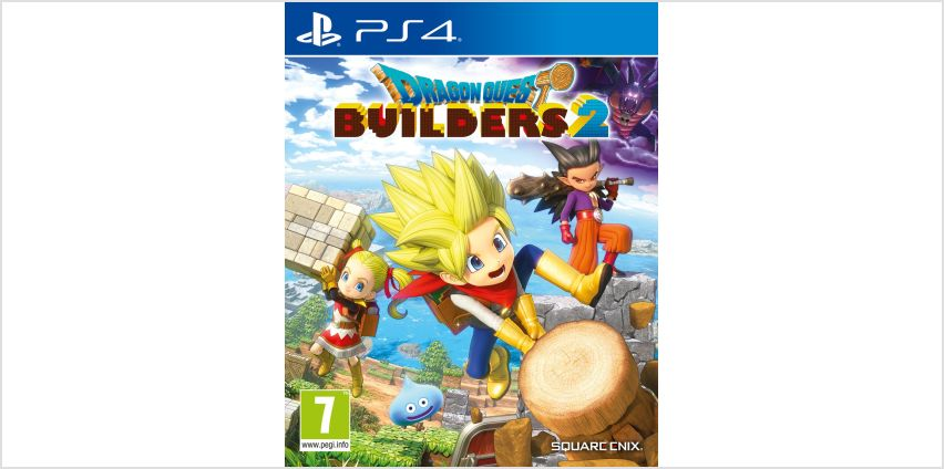 Dragon Quest Builders 2 PS4 Game from Argos