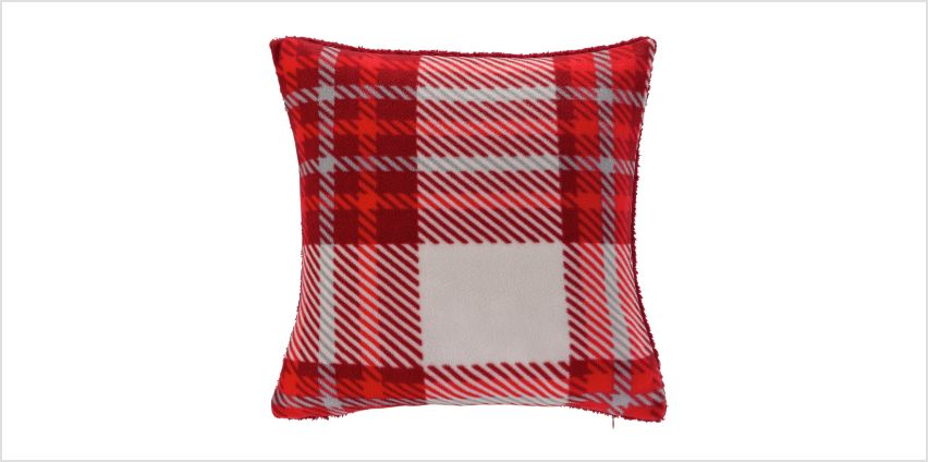 Argos Home Check Cushion from Argos