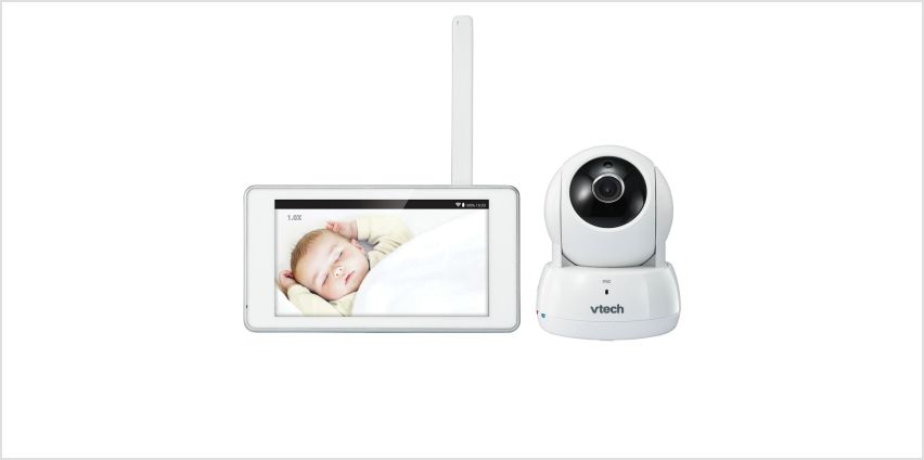 VTech 6000 Smart Video 5inch HD Baby Monitor from Argos