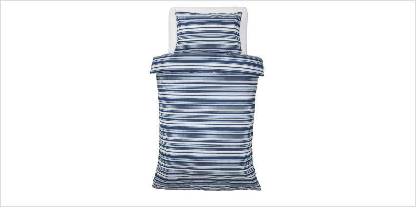 Argos Home Stripe Print Bedding Set from Argos