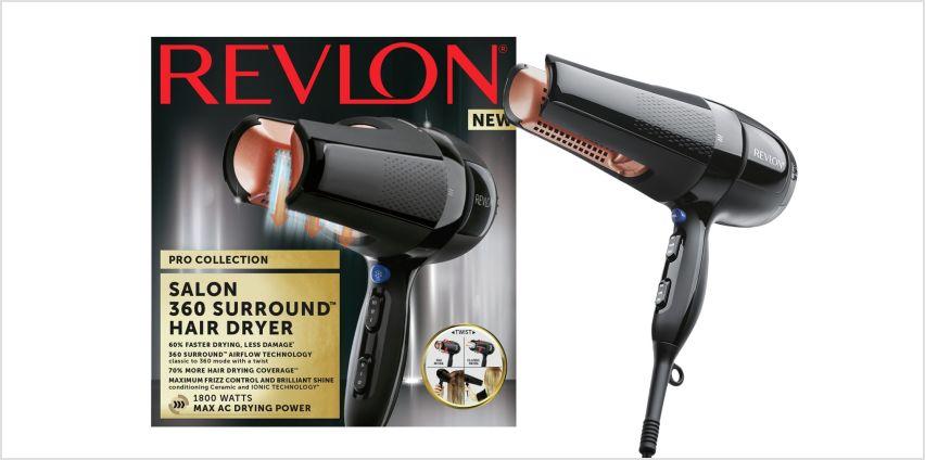 Revlon Pro Collection 360 Surround AC Hair Dryer  from Argos