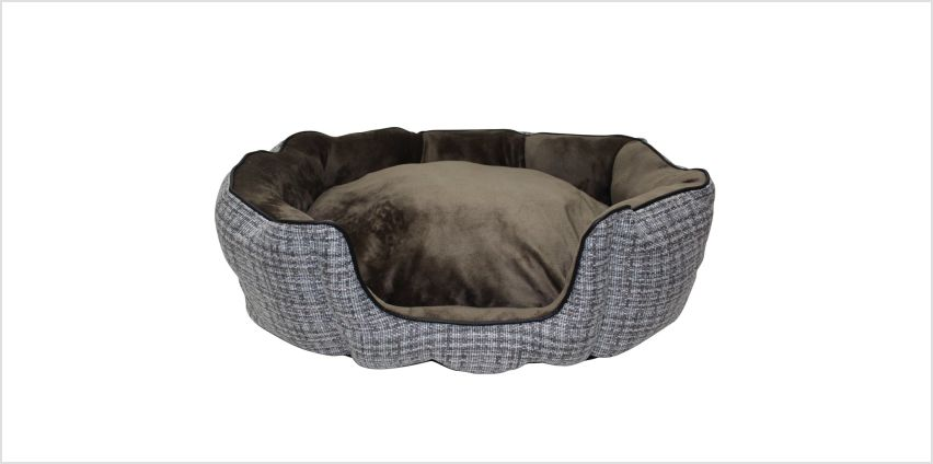 Argos Home Woven High Sided Pet Bed - Large from Argos