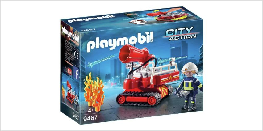 Playmobil 9467 City Action Fire Water Cannon from Argos