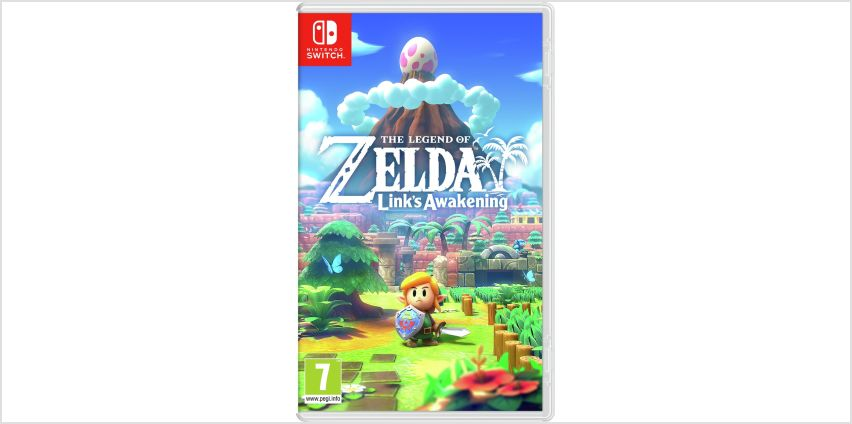 Legend of Zelda: Link's Awakening Nintendo Switch Game from Argos