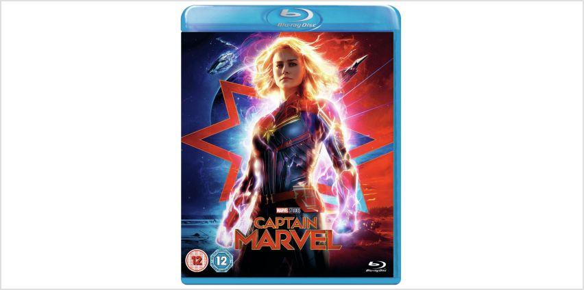 Captain Marvel Blu-Ray from Argos