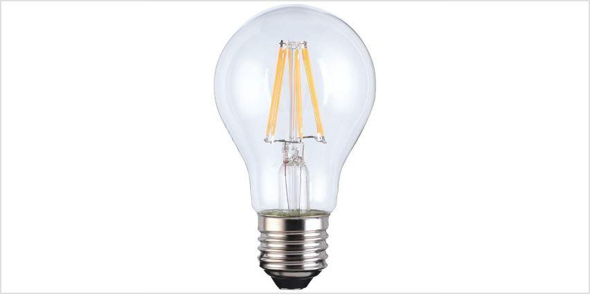 TCP Smart Wi-Fi Filament E27 LED Bulb from Argos
