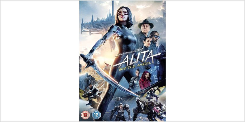Alita: Battle Angel DVD from Argos