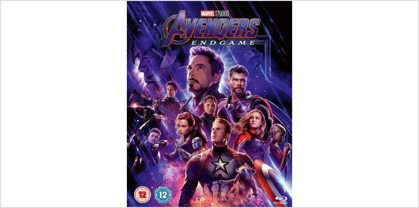 Marvel's Avengers: Endgame Blu-Ray from Argos