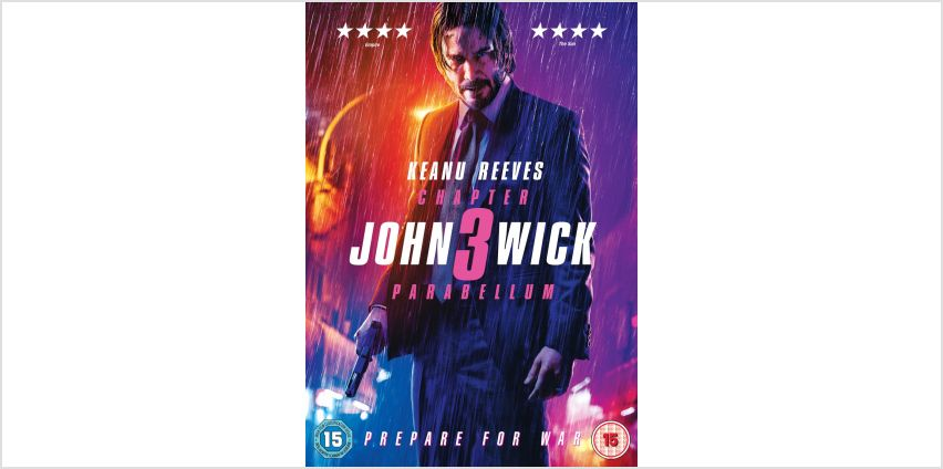 John Wick Chapter 3 Parabellum DVD from Argos