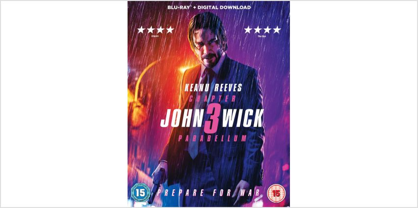 John Wick Chapter 3 Parabellum Blu-Ray from Argos