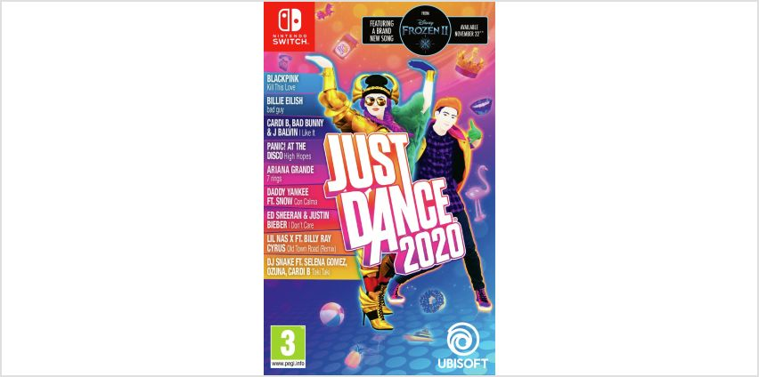 Just Dance 2020 Nintendo Switch Game from Argos