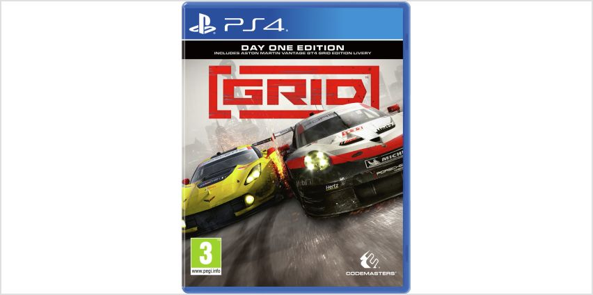 Grid PS4 Game from Argos