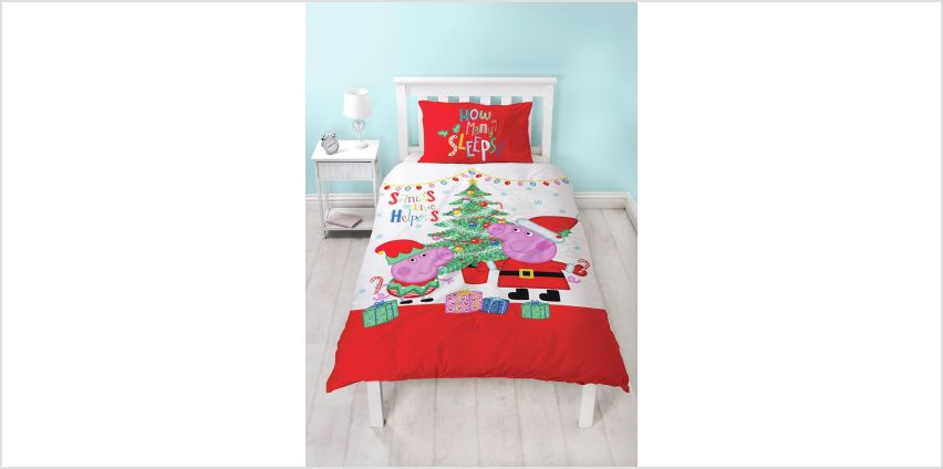 Peppa Pig Noel Bedding Set - Single from Argos