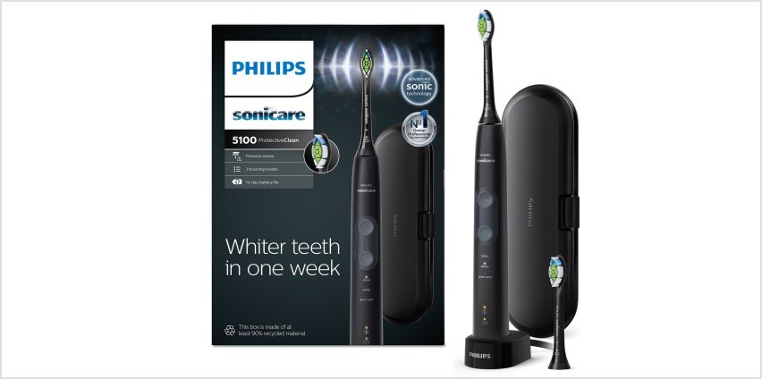 Philips ProtectiveClean 5100 Electric Toothbrush - Whitening from Argos