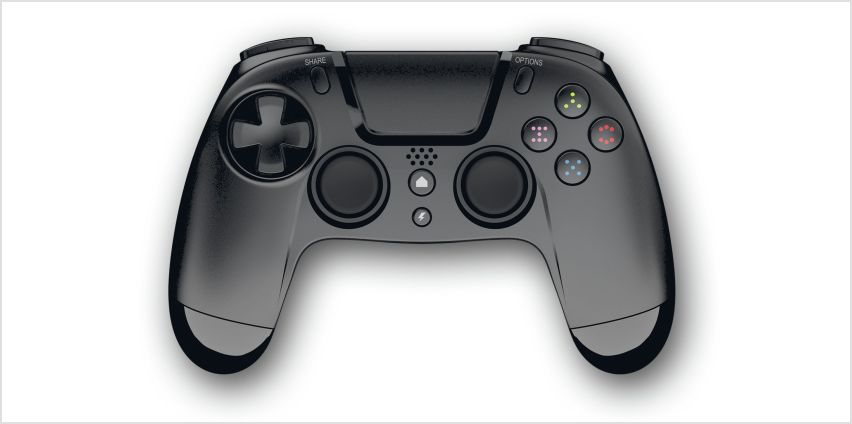 Gioteck VX-4 Wireless PS4 Controller - Black from Argos