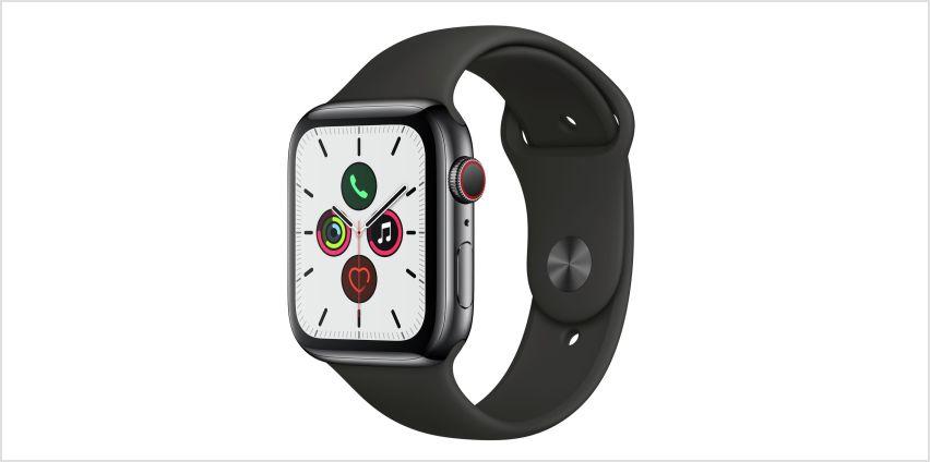 Apple Watch S5 Cellular 44mm from Argos