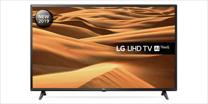 LG 43 Inch 43UM7000PLA Smart HD LED TV from Argos