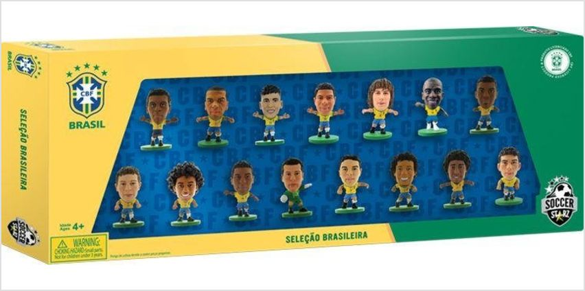 SoccerStarz Brazil 15 Team Figurine Pack. from Argos