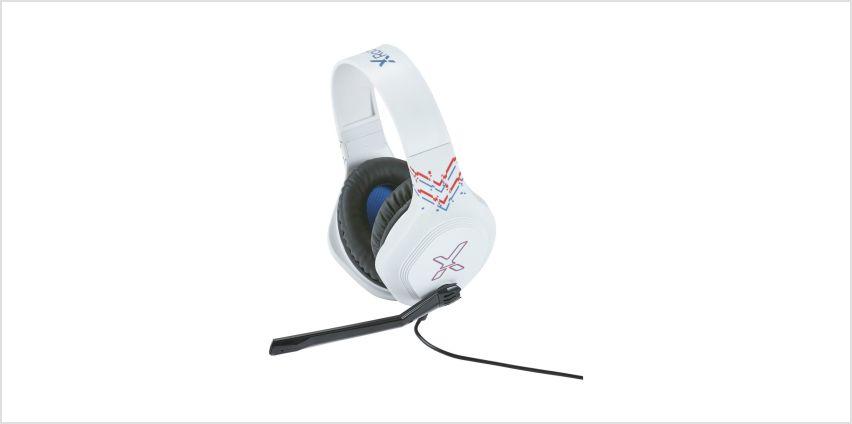 X-Rocker Esports Pro Xbox One, PS4, Switch Headset - White from Argos