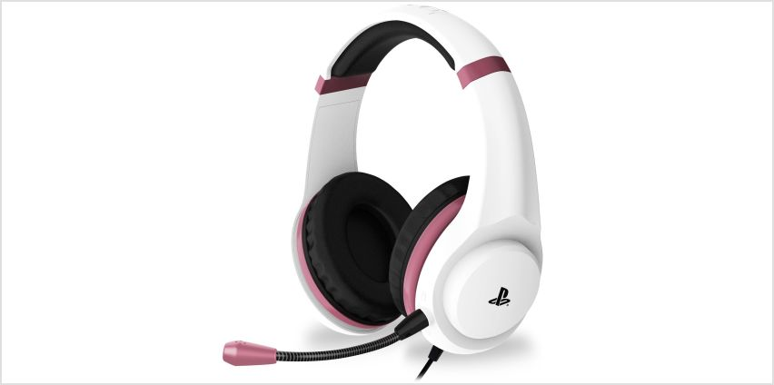 4Gamers Officially Licensed PS4 Headset - Rose Gold from Argos