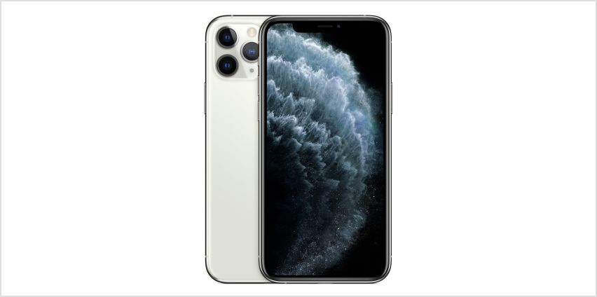 SIM Free iPhone 11 Pro 256GB Mobile Phone  - Silver from Argos