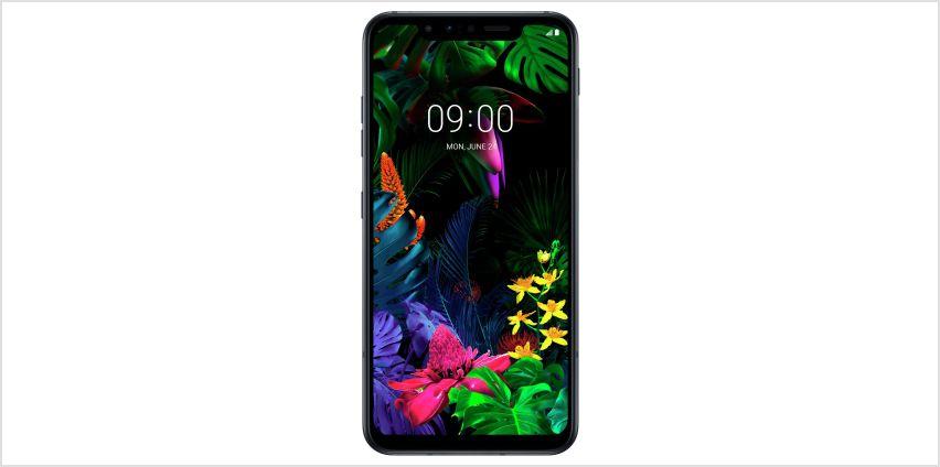 SIM Free LG G8S 128GB Mobile Phone - Black from Argos