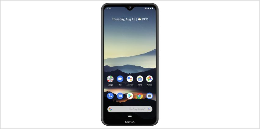 SIM Free Nokia 7.2 64GB Mobile Phone - Charcoal from Argos