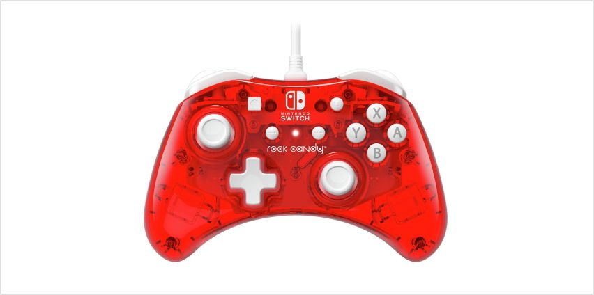PDP Nintendo Switch Rock Candy Controller - Red from Argos