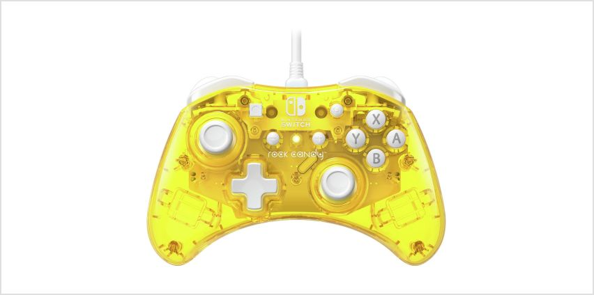 PDP Nintendo Switch Rock Candy Controller - Yellow from Argos